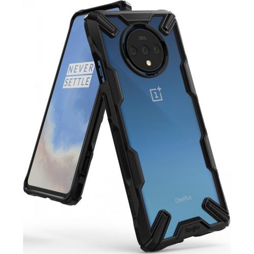 Fusion X Backcover voor de OnePlus 7T - Zwart