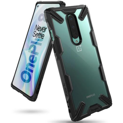 Fusion X Backcover voor de OnePlus 8 - Zwart