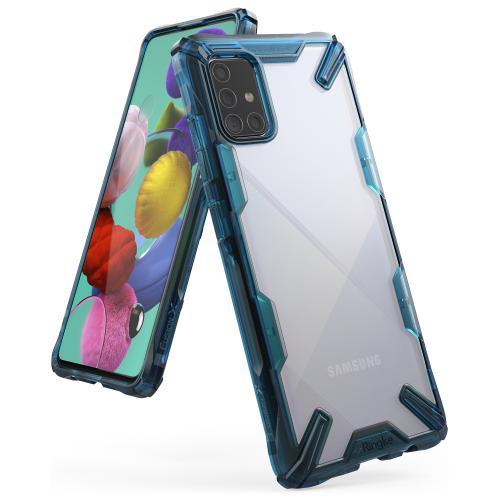 Fusion X Backcover voor de Samsung Galaxy A71 - Blauw
