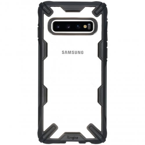 Fusion X Backcover voor de Samsung Galaxy S10 - Zwart