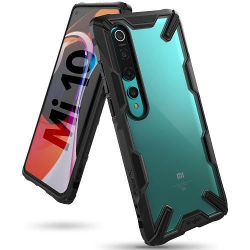Fusion X Backcover voor de Xiaomi Mi 10 (Pro) - Zwart