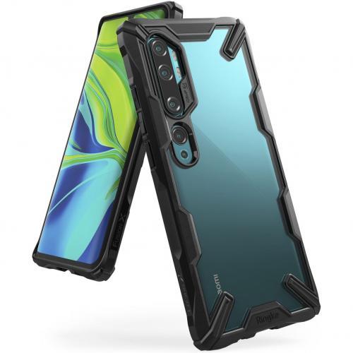 Fusion X Backcover voor de Xiaomi Mi Note 10 - Zwart