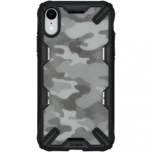 Fusion X Design Backcover voor de iPhone Xr - Camo Zwart