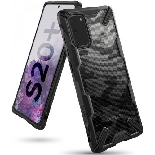 Fusion X Design Backcover voor de Samsung Galaxy S20 Plus - Camo Zwart