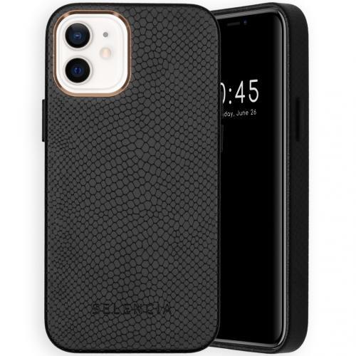 Gaia Slang Backcover voor de iPhone 12 Mini - Zwart