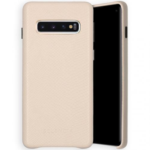 Gaia Slang Backcover voor de Samsung Galaxy S10 - Wit