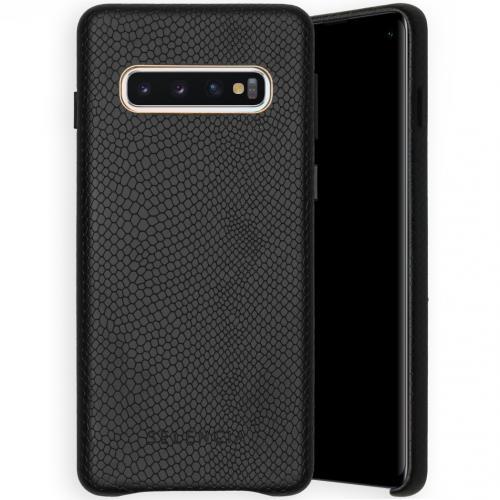 Gaia Slang Backcover voor de Samsung Galaxy S10 - Zwart