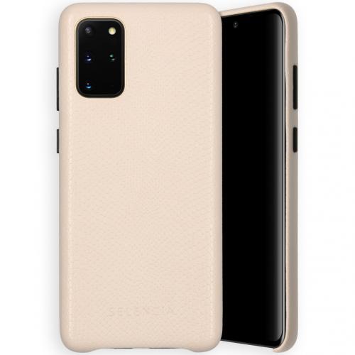 Gaia Slang Backcover voor de Samsung Galaxy S20 Plus - Wit