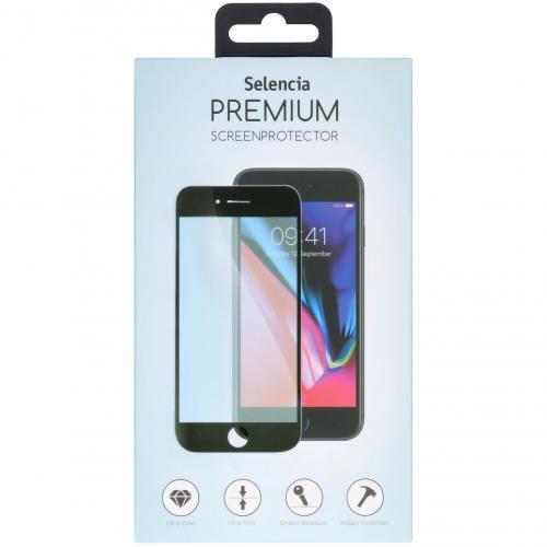 Gehard Glas Premium Screenprotector voor de Huawei Mate 40 Pro - Zwart