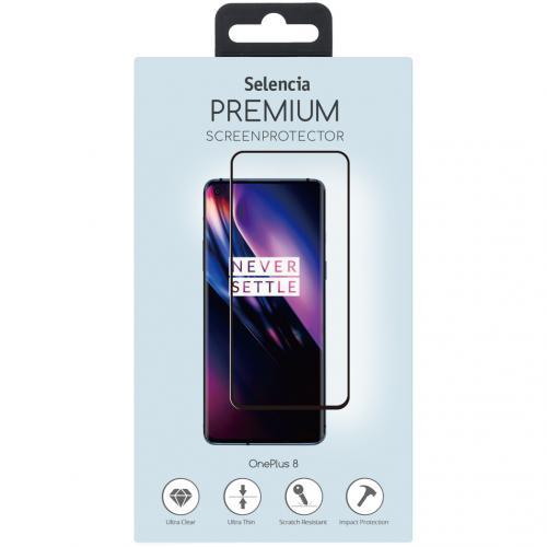 Gehard Glas Premium Screenprotector voor de OnePlus 8 - Zwart