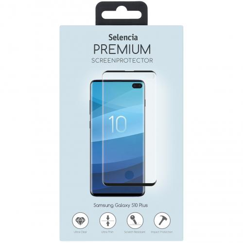 Gehard Glas Premium Screenprotector voor de Samsung Galaxy S10 Plus