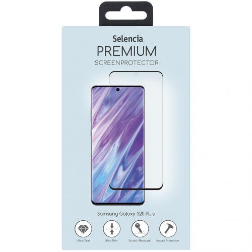 Gehard Glas Premium Screenprotector voor de Samsung Galaxy S20 Plus - Zwart