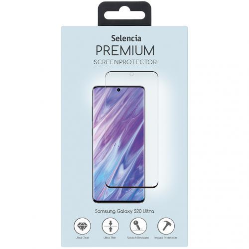 Gehard Glas Premium Screenprotector voor de Samsung Galaxy S20 Ultra - Zwart
