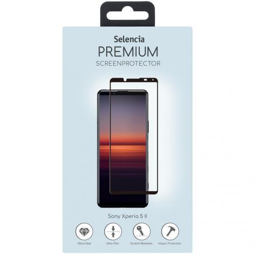 Gehard Glas Premium Screenprotector voor de Sony Xperia 5 II - Zwart