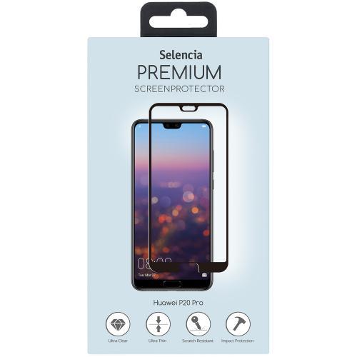 Gehard Glas Premium Screenprotector voor Huawei P20 Pro - Zwart