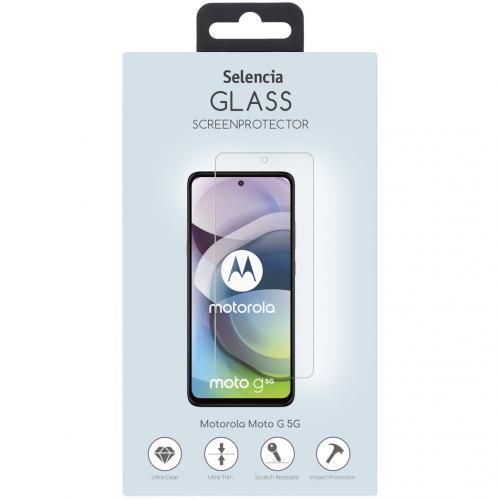 Gehard Glas Screenprotector voor de Motorola Moto G 5G