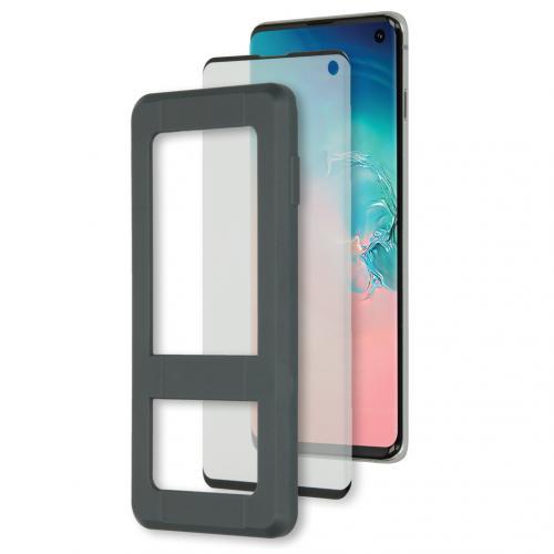 Glass Screenprotector + Applicator Samsung Galaxy S10