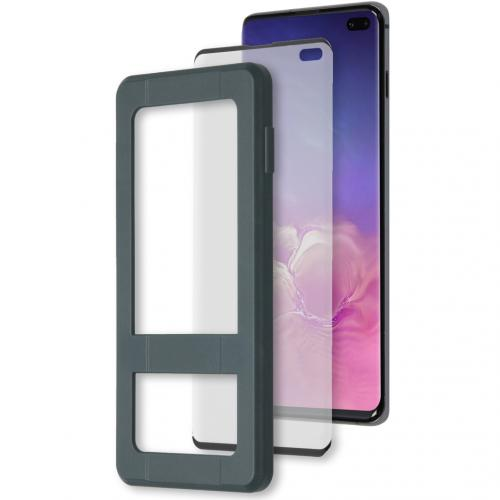 Glass Screenprotector + Applicator Samsung Galaxy S10 Plus