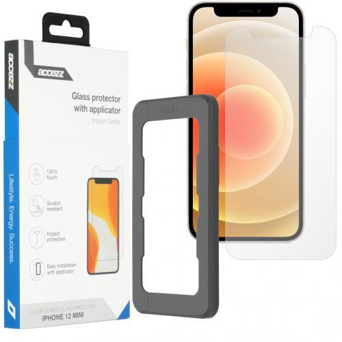 Glass Screenprotector + Applicator voor de iPhone 12 Mini