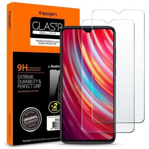 GLAStR Screenprotector Duo Pack voor de Xiaomi Redmi Note 8 Pro