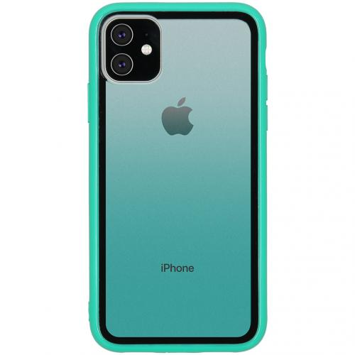 Gradient Backcover voor de iPhone 11 - Groen