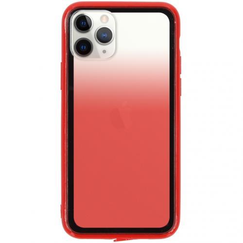 Gradient Backcover voor de iPhone 11 Pro - Rood