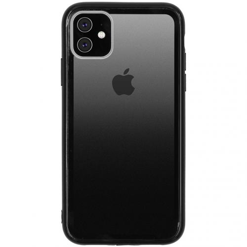 Gradient Backcover voor de iPhone 11 - Zwart