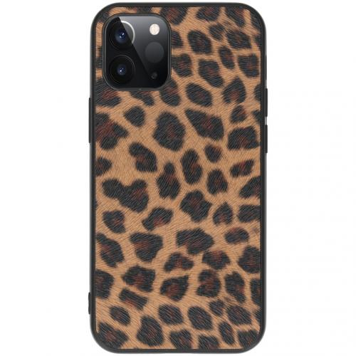 Hardcase Backcover voor de iPhone 12 5.4 inch - Luipaard