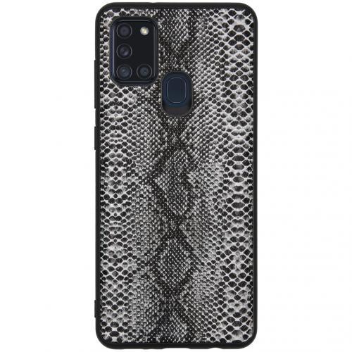 Hardcase Backcover voor de Samsung Galaxy A21s - Snake