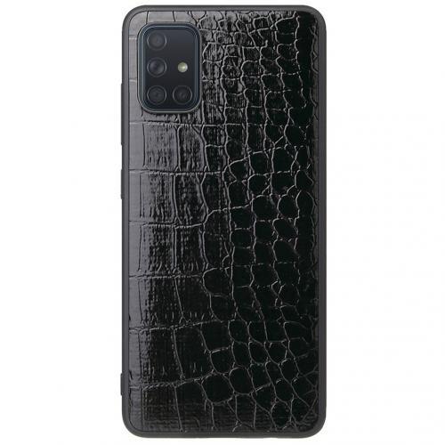 Hardcase Backcover voor de Samsung Galaxy A71 - Krokodil
