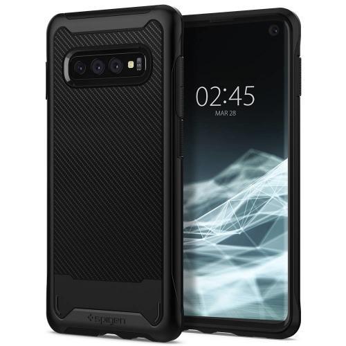 Hybrid NX Backcover voor Samsung Galaxy S10 Plus - Zwart