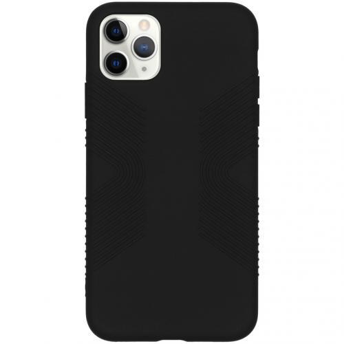 Impact Grip Backcover iPhone 11 Pro Max - Zwart