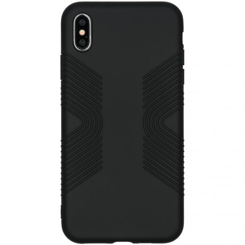 Impact Grip Backcover voor de iPhone Xs Max - Zwart
