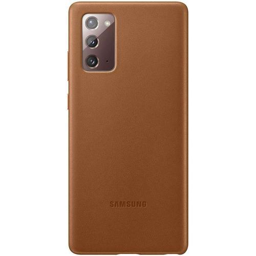 Leather Backcover voor de Galaxy Note 20 - Bruin