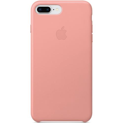 Leather Backcover voor iPhone 8 Plus / 7 Plus - Soft Pink