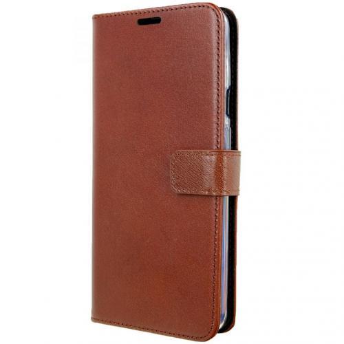 Leather Booktype voor de OnePlus 7 Pro - Bruin