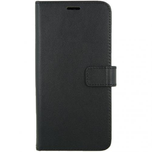 Leather Booktype voor de OnePlus 7 Pro - Zwart