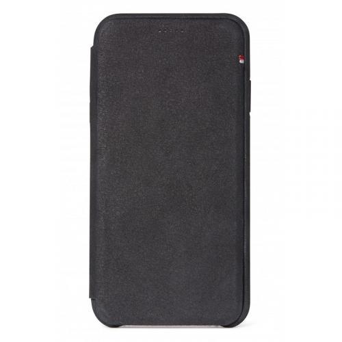 Leather Slim Wallet voor de iPhone Xr - Zwart