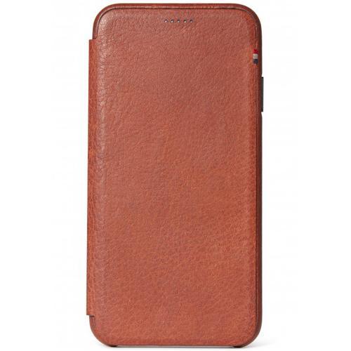 Leather Slim Wallet voor de iPhone Xs Max - Bruin