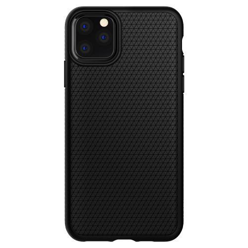 Liquid Air Backcover voor de iPhone 11 Pro Max - Zwart