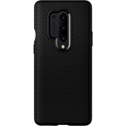 Liquid Air Backcover voor de OnePlus 8 Pro - Zwart
