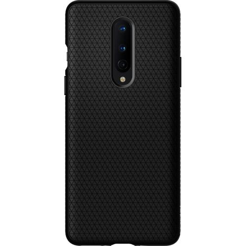 Liquid Air Backcover voor de OnePlus 8 - Zwart