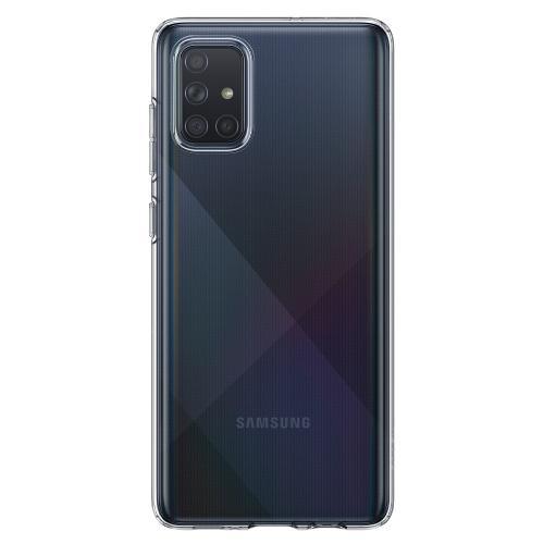 Liquid Crystal Backcover voor de Samsung Galaxy A71 - Transparant