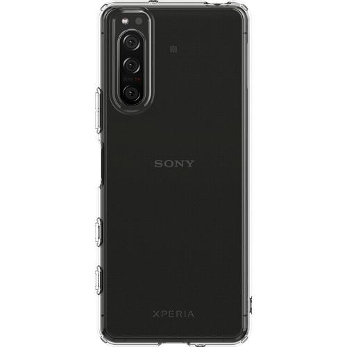 Liquid Crystal Backcover voor Sony Xperia 5 II - Transparant
