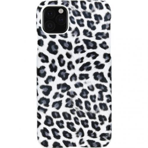 Luipaard Design Backcover voor de iPhone 11 Pro Max - Wit