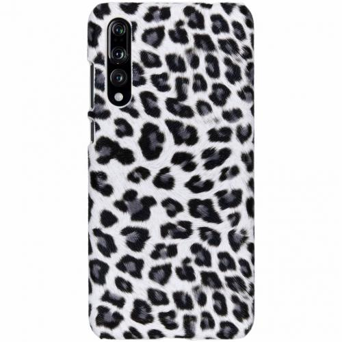 Luipaard Design Backcover voor Huawei P20 Pro - Wit