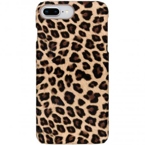 Luipaard Design Backcover voor iPhone 8 Plus / 7 Plus - Bruin