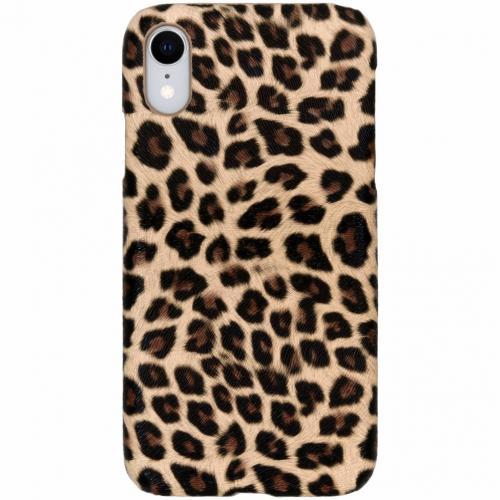 Luipaard Design Backcover voor iPhone Xr - Bruin