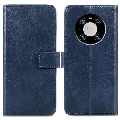 Luxe Booktype voor de Huawei Mate 40 Pro - Donkerblauw