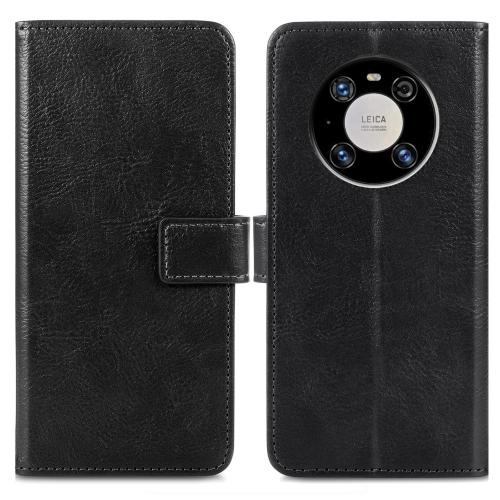 Luxe Booktype voor de Huawei Mate 40 Pro - Zwart